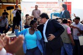 Alan García festejó a lo grande su cumpleaños número 64 en Manchay