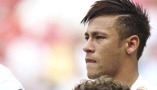 Neymar se despidió entre lágrimas de los hinchas del Santos