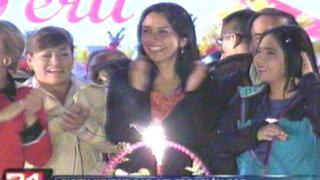 Oposición parlamentaria pide investigar celebración por cumpleaños de Nadine