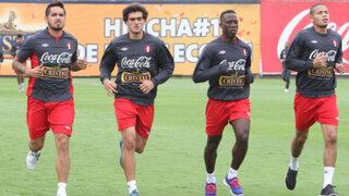 Vacilan a Vargas con Tilsa Lozano durante entrenamiento de la selección
