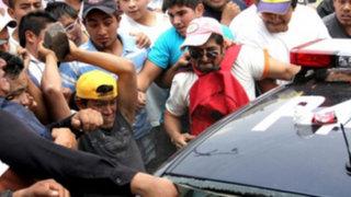 Arequipa: Enfurecidos comerciantes intentaron linchar a presunto violador