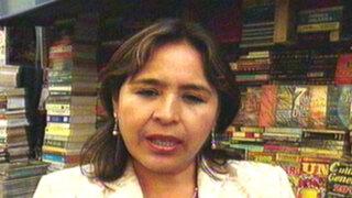 Nidia Vílchez señala que se destinaría fondos públicos a favor de Primera Dama