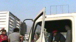 Camión arrolla mototaxi y deja un muerto en avenida Túpac Amaru