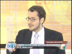 """Regidor Sifuentes: Fernán Altuve realiza """"terrorismo jurídico"""" dentro del Municipio"""