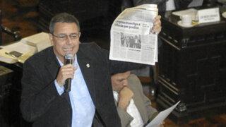 Solicitan vacancia de regidor Jaime Salinas por no vivir en el país