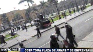 Noticias de las 6: protestas de la CGTP desatan caos en la Plaza de Armas