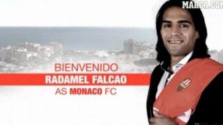 Radamel Falcao es el nuevo delantero del Mónaco de Francia