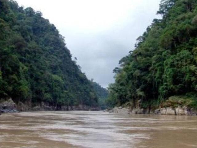 Río Marañón sigue en alerta roja por aumento en nivel del agua