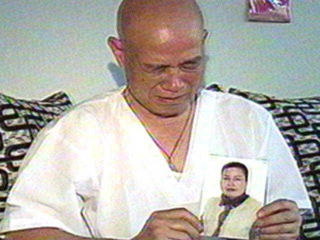 Ciudadano chino busca desesperadamente a su esposa desaparecida