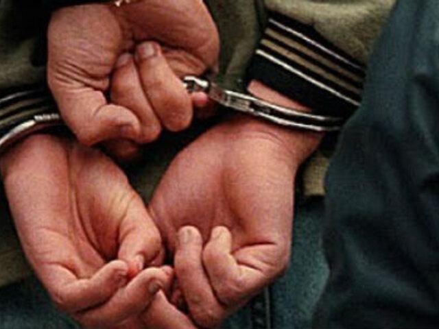 Arequipa: detienen a sujeto que habría matado a otro varón apuñalándolo