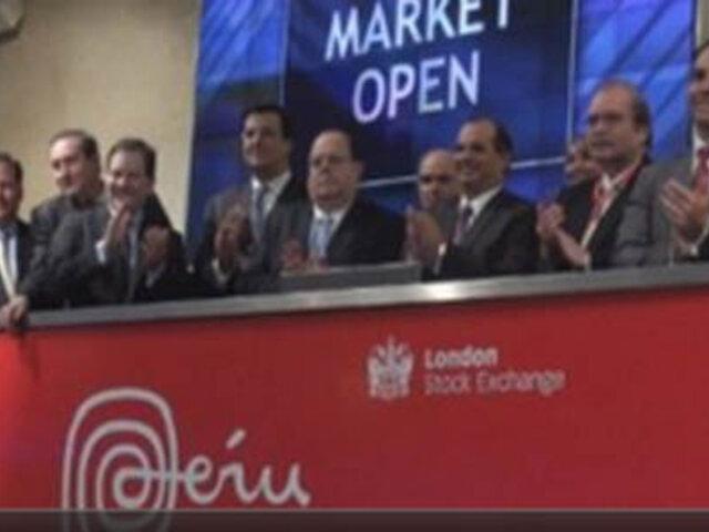 Perú inicio operaciones en Bolsa de Londres con tradicional campanazo