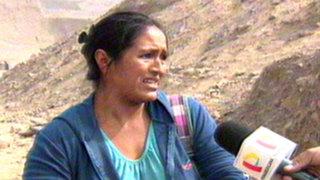Jicamarca: vecinos se enfrentan y expulsan a invasores de terrenos