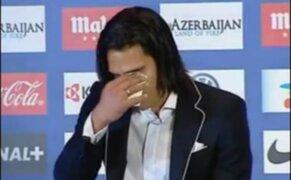 Radamel Falcao se despidió entre lágrimas de hinchas del Atlético de Madrid