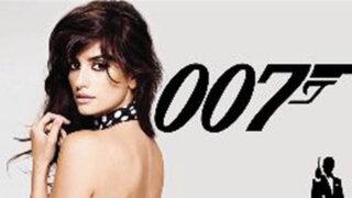Actriz española Penélope Cruz sería la nueva chica Bond