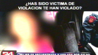 Adolescente es víctima de violadores que se hicieron pasar por taxistas