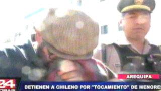 Arequipa: chileno es acusado de tocamientos indebidos a escolares