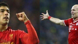 Bayern Munich ofrece al Liverpool a Robben a cambio de Luis Suárez