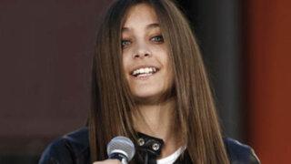 EEUU: internan a hija de Michael Jackson tras intento de suicidio