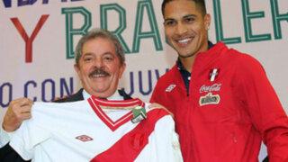 Bloque Deportivo: Lula desea que Perú se clasifique tras encuentro con Paolo