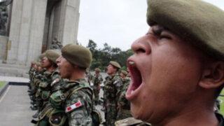 12,500 jóvenes serán llamados a realizar servicio militar