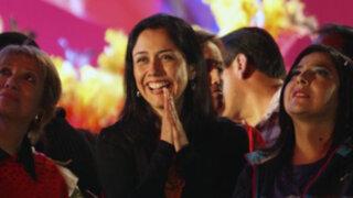 Datum: 68% cree que Nadine Heredia hace campaña con recursos del Estado