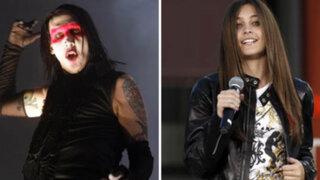 Marilyn Manson envía mensaje de aliento y buenos deseos a Paris Jackson