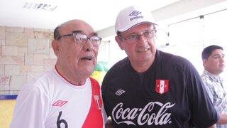 Óscar Avilés motivó a seleccionados antes de partido con Ecuador