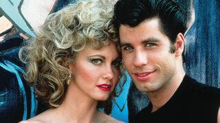 """Jhon Travolta celebra los temas de """"Grease"""""""