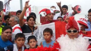 La Videna: Así viven los hinchas la antesala al partido contra Ecuador