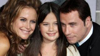 Hija de John Travolta disfrutó del triunfo de la selección peruana