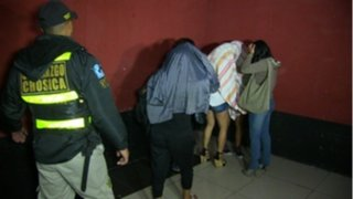 Detienen a 20 menores que se dedicaban a la prostitución en Chosica
