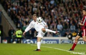 Zidane intentó repetir golazo que dio al Madrid su novena Champions