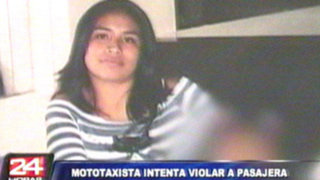 Mototaxista agredió salvajemente a joven madre que impidió que la violaran