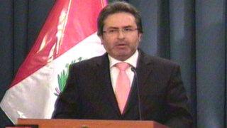 Premier Jiménez: Pronaa fue desactivado por estar invadido de corrupción