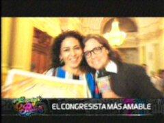 El congresista más amable: una incesante búsqueda por el mejor parlamentario