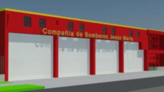 Jesús María tendrá nueva estación de bomberos valorizada en S/.250 mil