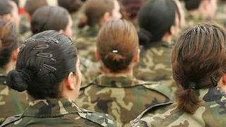 Jóvenes peruanas están más dispuestas a cumplir con el Servicio Militar