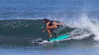Indonesia: Jóvenes sorprenden al mundo en competición de surf con tacos