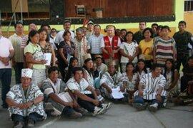 Gobierno implementa amplio programa de inclusión social en la amazonía