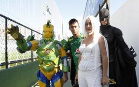 Batman, Iron Man y Tormenta son los nuevos guardaespaldas de Neymar