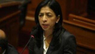Interpelación a Triveño provocó acalorada discusión en el Congreso