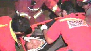 Chofer intentó darse a la fuga tras atropellar a peatón en La Molina