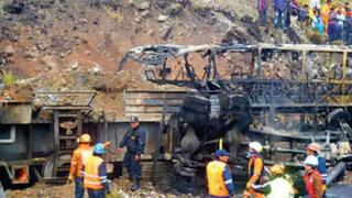 Fiscalía ratificó que chofer de cisterna causó tragedia en Morococha
