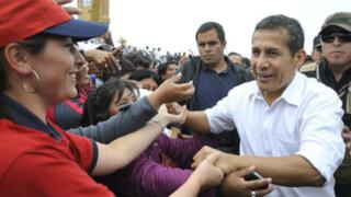 Presidente Humala inaugura tambo en poblado ayacuchano de Occollo