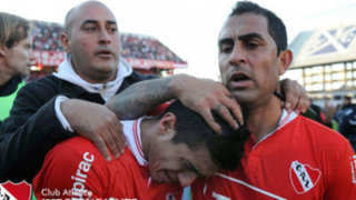 Independiente de Avellaneda se fue al descenso tras perder 0-1 ante San Lorenzo