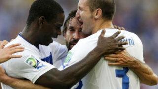 Copa Confederaciones: Italia venció a México 2-1 con goles de Pirlo y Balotelli