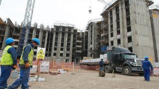 Desaceleración de la economía no alcanza al sector construcción