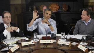 Obama concluye visita a cumbre G8 en intenso debate por conflicto en Siria
