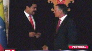 Presidentes de Portugal y Venezuela buscan fortalecer acuerdos