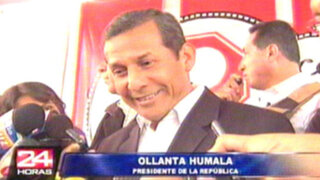 """Humala critica a Defensoría y resalta que servicio militar actual es """"hipócrita"""""""